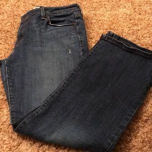 Levi's 545 low rise boot cut jeans